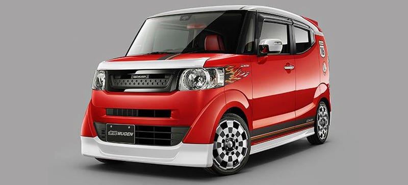 Ive Mentioned Before How Taken I Am With Hondas Home Market Only N Box Slash And Now It Seems Expressing Some Envy For An Iconic American Car