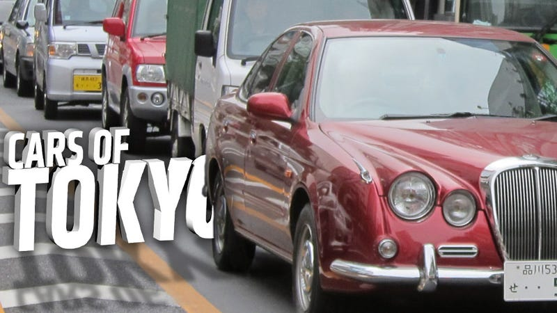 Illustration for article titled Take A Walk Through Tokyo's Dense Car Culture