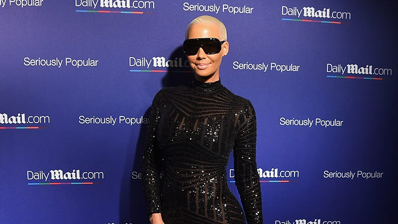 Illustration for article titled 'When You Stop Caring...You Start Really Living': Amber Rose Just Penned an Op-Ed ForTime