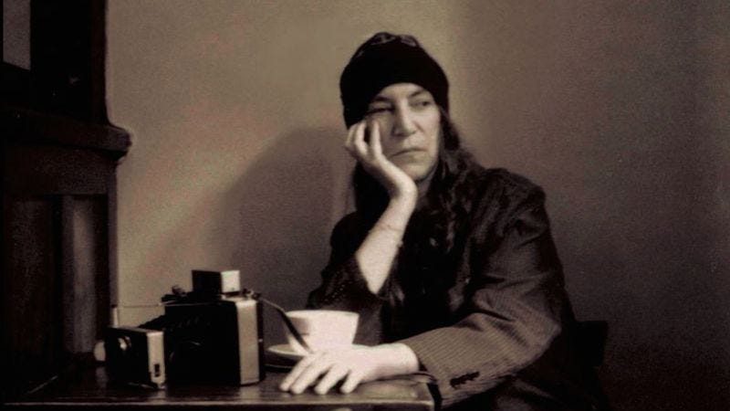 """Illustration for article titled In M Train, Patti Smith offers her world on a """"platter filled with allusions"""" (and coffee)"""