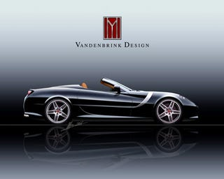 Illustration for article titled The Vandenbrink GT Convertible, For When A Sub-$2 Mil Ferrari Is An Insult