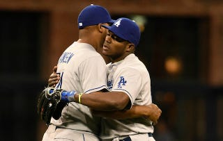"""Illustration for article titled Columnist: Yasiel Puig Threatens To """"Unravel Team"""" By Not Stretching"""
