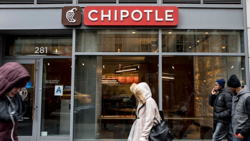 Illustration for article titled Chipotle Blames Outbreak on Its Own Sick Employees