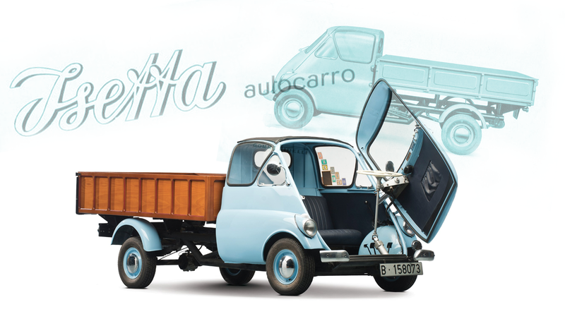 Illustration for article titled Let's Take a Moment to Remember That There Were Once Isetta-Based Trucks