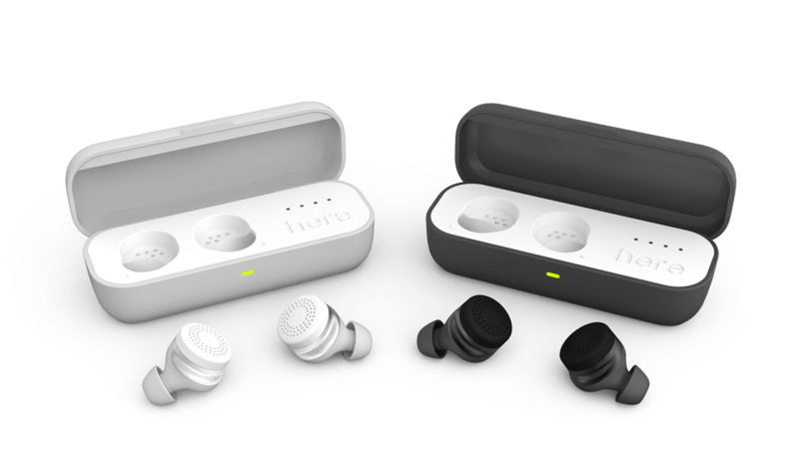 mini wireless earbuds blue