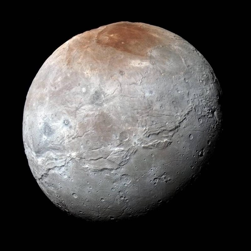 Illustration for article titled Bask in the Glory of Charon, Pluto's Largest Moon