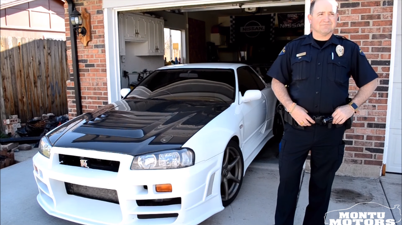 Illustration for article titled Badass Denver Cop Drives An Imported Nissan Skyline GT-R