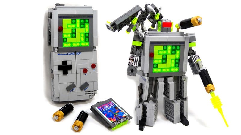 Illustration for article titled Legos and Gameboys and Transformers Collide in This Toy of Our Childhood Dreams
