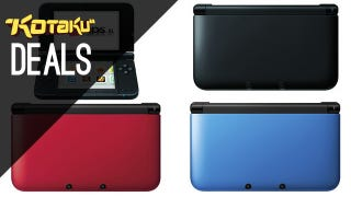 Illustration for article titled 3DS XL Back Down To $150 Black Friday Pricing