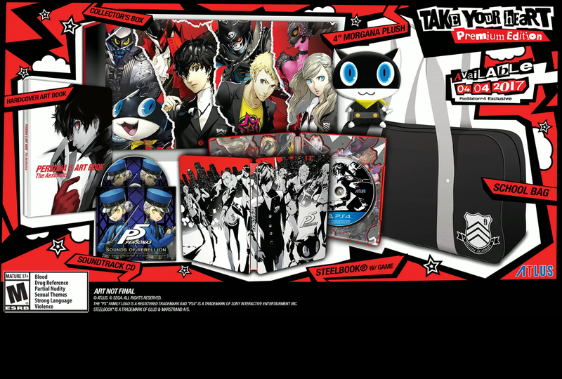 Illustration for article titled Atlus Persona 5 Stream Announcements