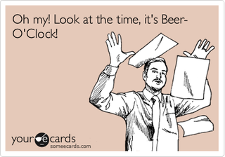 Illustration for article titled Yup! It's Friday! It's beer o'clock again! Hooray!
