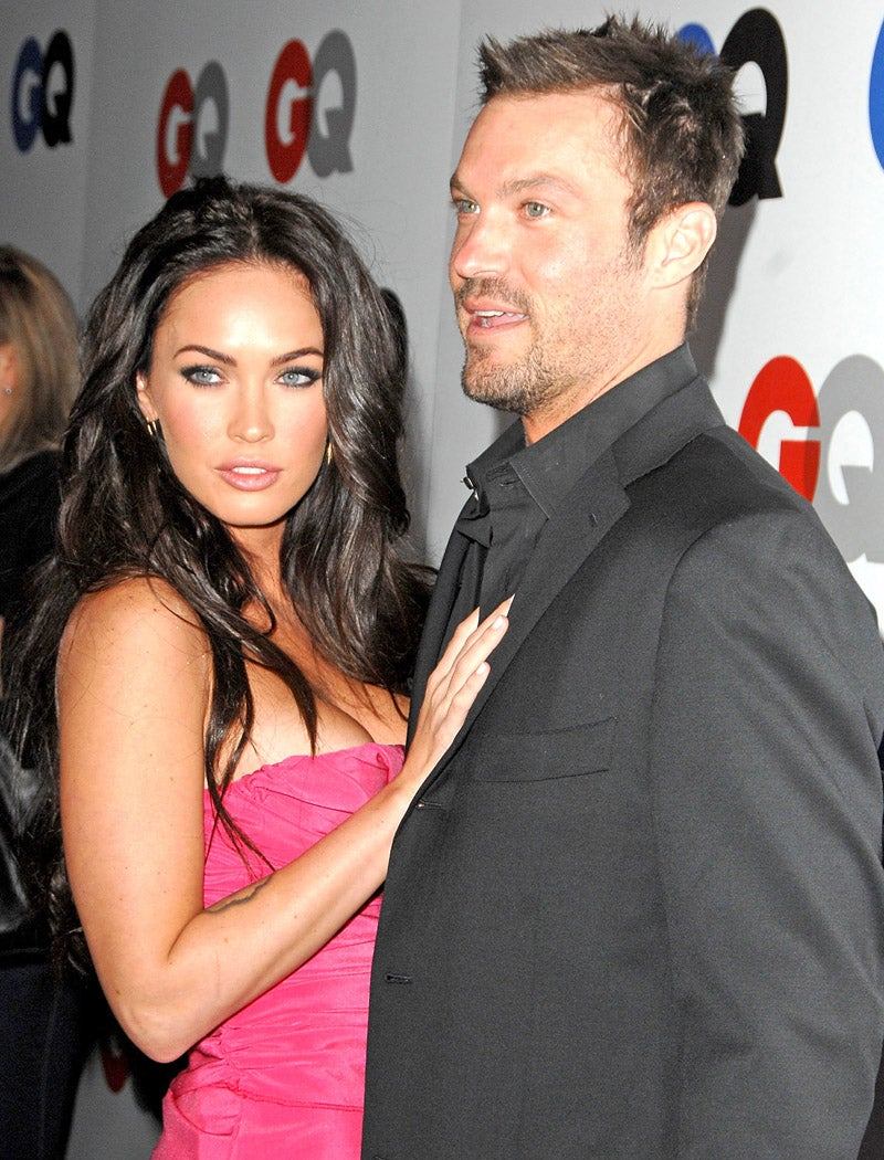 Megan Fox and Brian Austin Green began dating in 2004