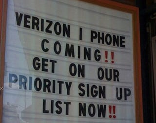 Illustration for article titled Report: Verizon iPhone Coming In January