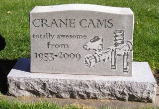 Illustration for article titled Crane Cams Closes After 56 Years Of Awesomness