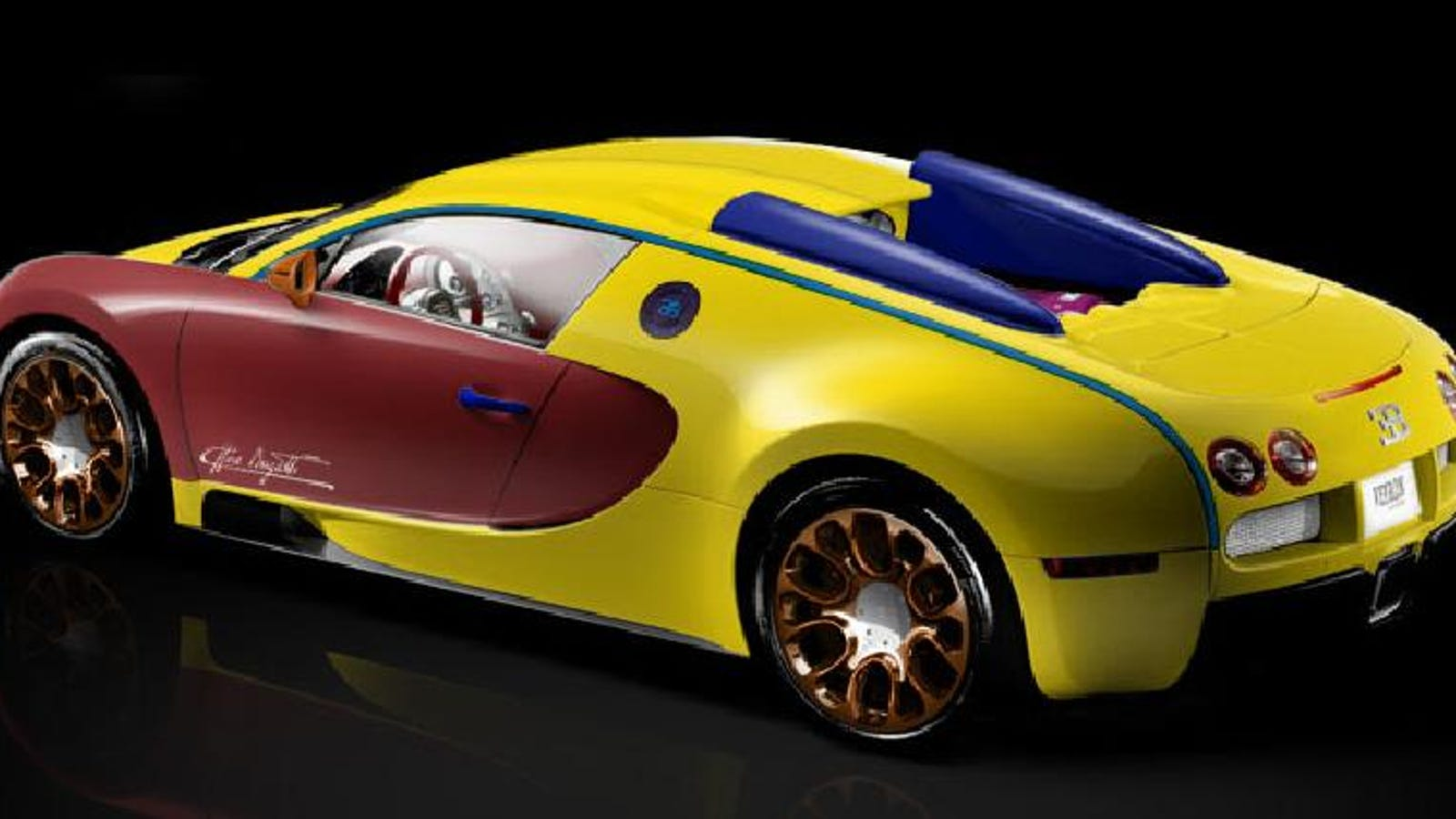 how to build the world's worst bugatti veyron