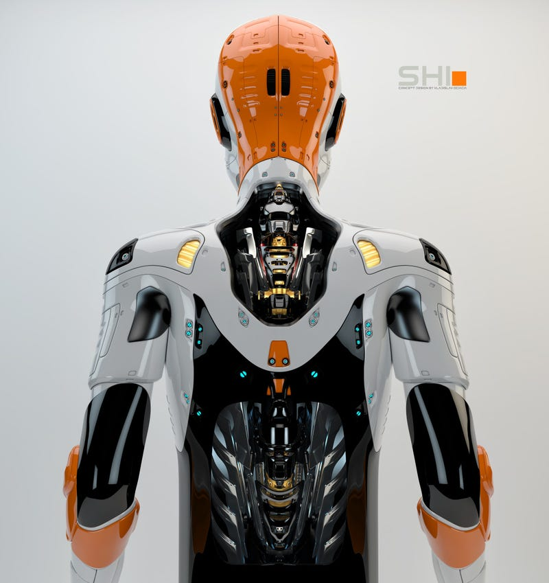 Illustration for article titled Vladislav Ociacia's Robot Renders Are Works Of Art