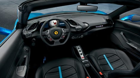 The Ferrari 488 Pista Spider Is the Convertible With the