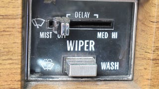 Unusual wiper controls