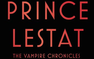 Illustration for article titled io9 Book Club Is in Session! Let's Talk About Prince Lestat!