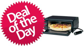 Illustration for article titled This 12V Oven Is Your Bake-It-On-The-Go Deal of the Day