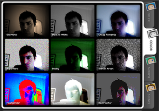 Illustration for article titled Turn your webcam into a photo booth with Cameroid