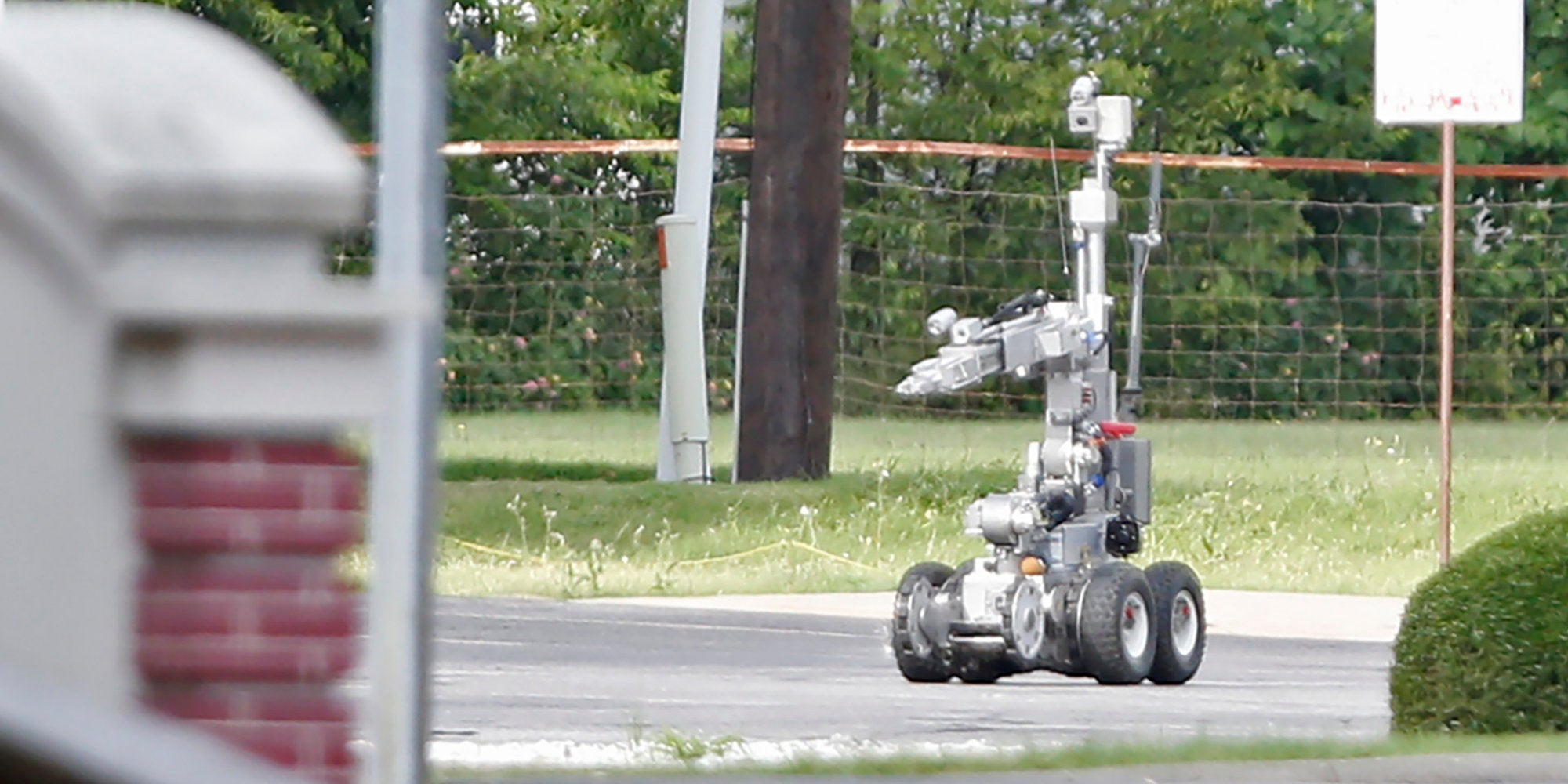 what we know about the bomb robot used to kill the