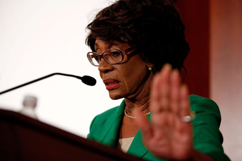 Auntie Maxine Waters Issues Proposal to Trump: Quit so I Can Stop