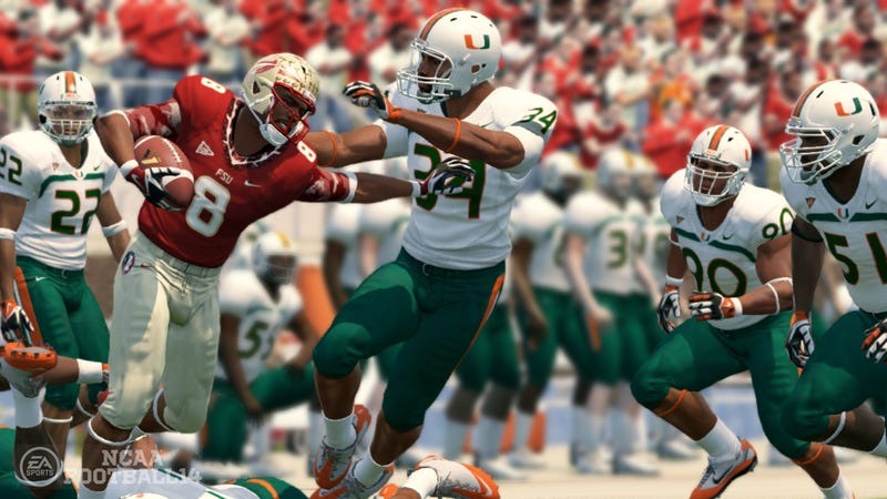 Illustration for article titled Source: EA's Next College Football Game Will Only Lose One Team