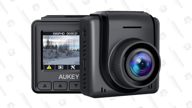 Record Your Road Incidents Discretely With Aukey s 1080p Mini Dash Cam, Now Just $26
