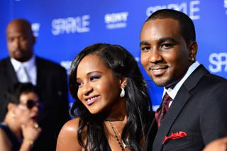 Bobbi Kristina Brown and Nick Brown in 2012Frazer Harrison/Getty Images