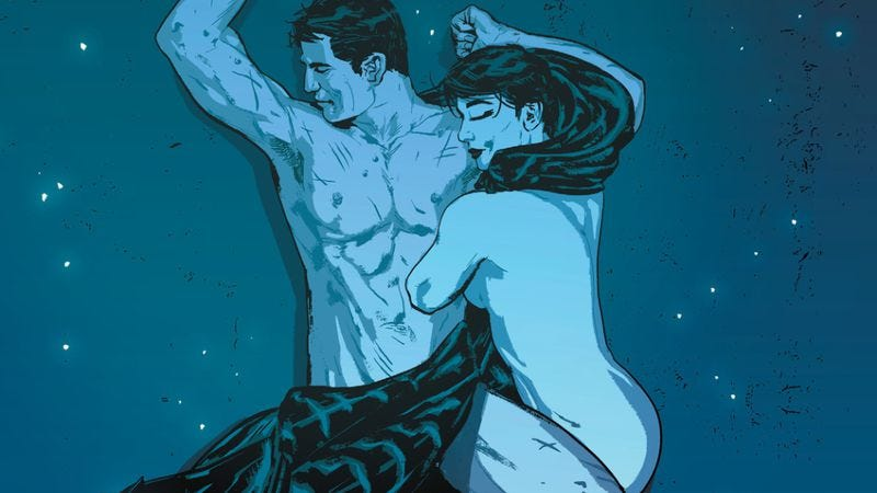 Illustration for article titled Batman #15 showcases why superheroes should have more sex