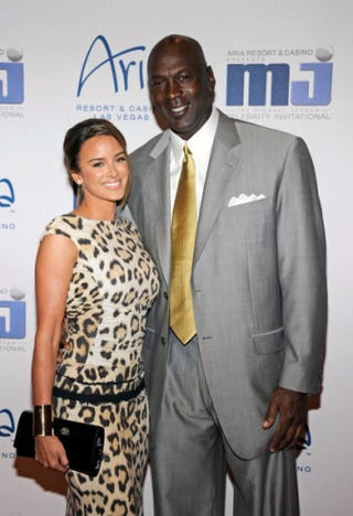 Michael Jordan and Yvette PrietoEthan Miller/Getty Images for MJCI