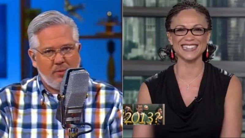 Illustration for article titled Glenn Beck Supports Melissa Harris-Perry and The World is Crazy