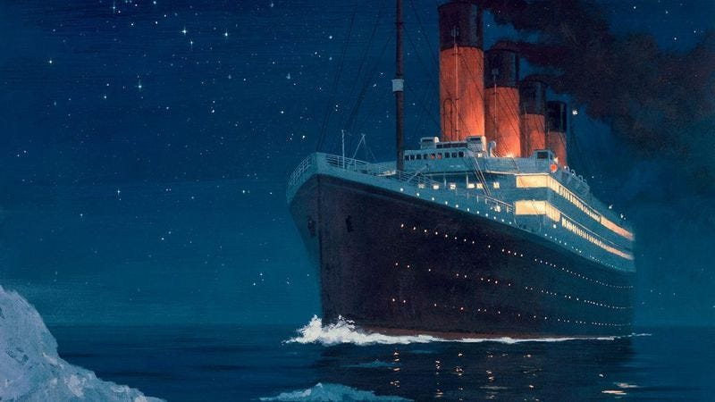 Illustration for article titled Tim Heidecker wrote Bob Dylan's new song about the Titanic