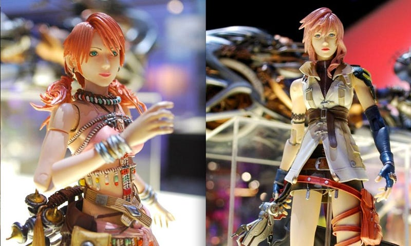 Illustration for article titled No, You Cannot Play With These FFXIII Figures Yet