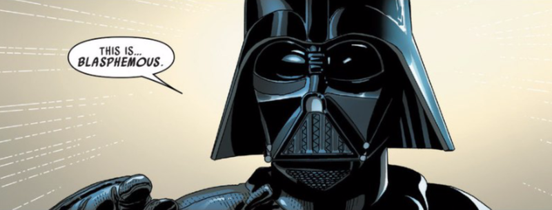 Illustration for article titled Darth Vader's Got A Mystery Enemy In The Latest Star Wars Comic
