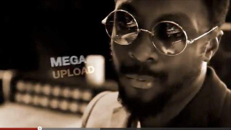 Illustration for article titled Megaupload thwarts UMG's attempt to block its new bizarre, star-studded promotional video