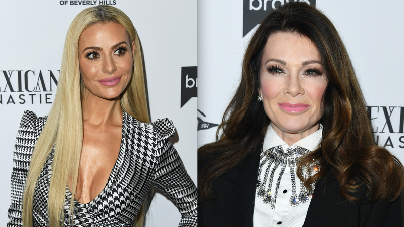 Illustration for article titled RHOBH Lisa Vanderpump Says 'It's Easier Talking to Congress' Than 'Stupid Cow' Dorit Kemsely
