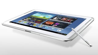 Illustration for article titled How Would You Hold Samsung's 12.2-Inch Mega-Tablet?