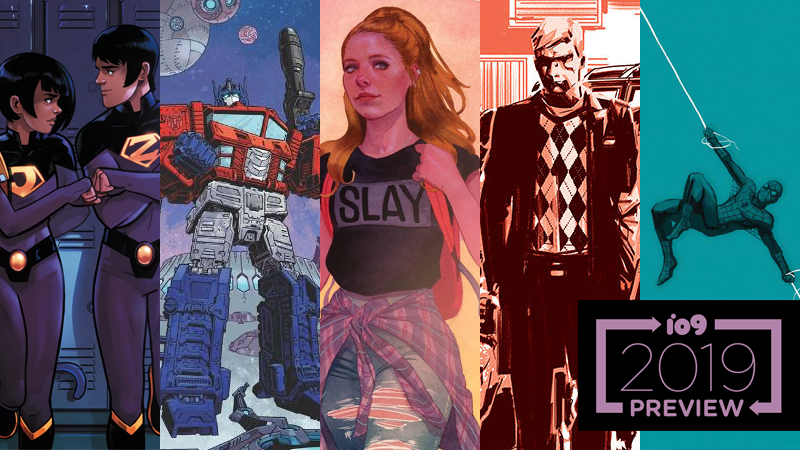 Wonders, transformers, slayers, weirdness, and life stories are waiting to be uncovered in 2019's comics.