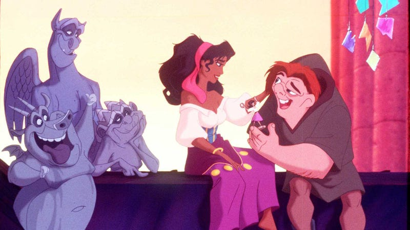Illustration for article titled With Hunchback Of Notre Dame, Disney's live-action remake machine has reached the B-tier