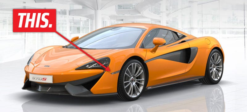Illustration for article titled The McLaren 570S Has The Best Integrated Marker Light Ever