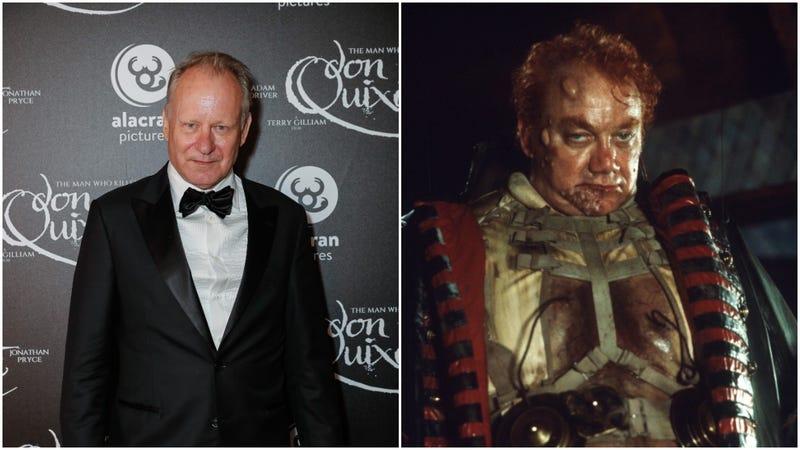 Stellan Skarsgård (left) and Kenneth McMillan (right), as Baron Vladimir Harkonnen in David Lynch's Dune