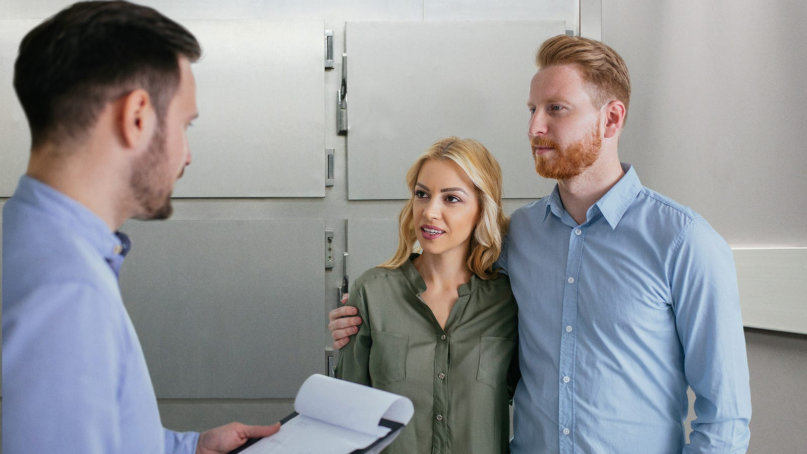 Sperm Bank Manager Takes Wealthy Couple To Secret Back Freezer Where The Real Good Stuff Is Stored