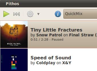Illustration for article titled Pithos Melds Pandora Streaming with Linux Desktops