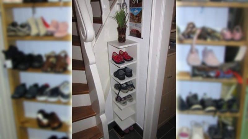 Illustration for article titled Stack Your Shoes Vertically with an IKEA End Unit