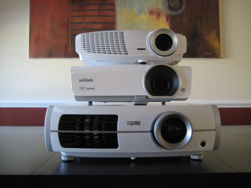 1000 1080p Projector Battlemodo Optoma Hd20 Vs Vivitek H1080fd
