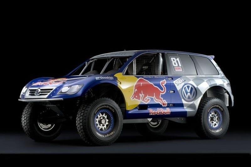 Illustration for article titled Volkswagen Touareg V12 TDI Baja Racer