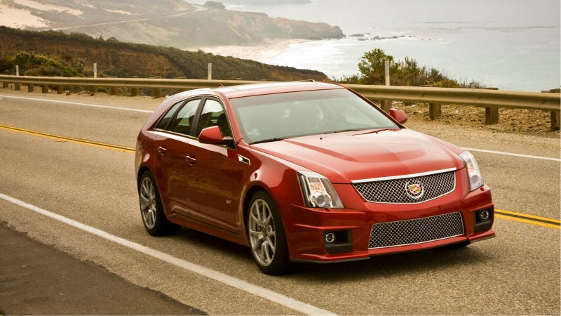Illustration for article titled Get Your Frowny Faces Ready — The Cadillac CTS Wagon May Be On The Way Out