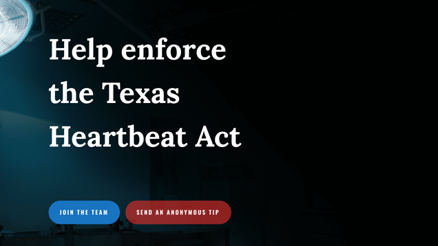 The Right s Favorite Web Refuge Has Also Booted Texas s Abortion Snitching Website